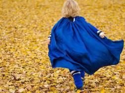 kid in cape